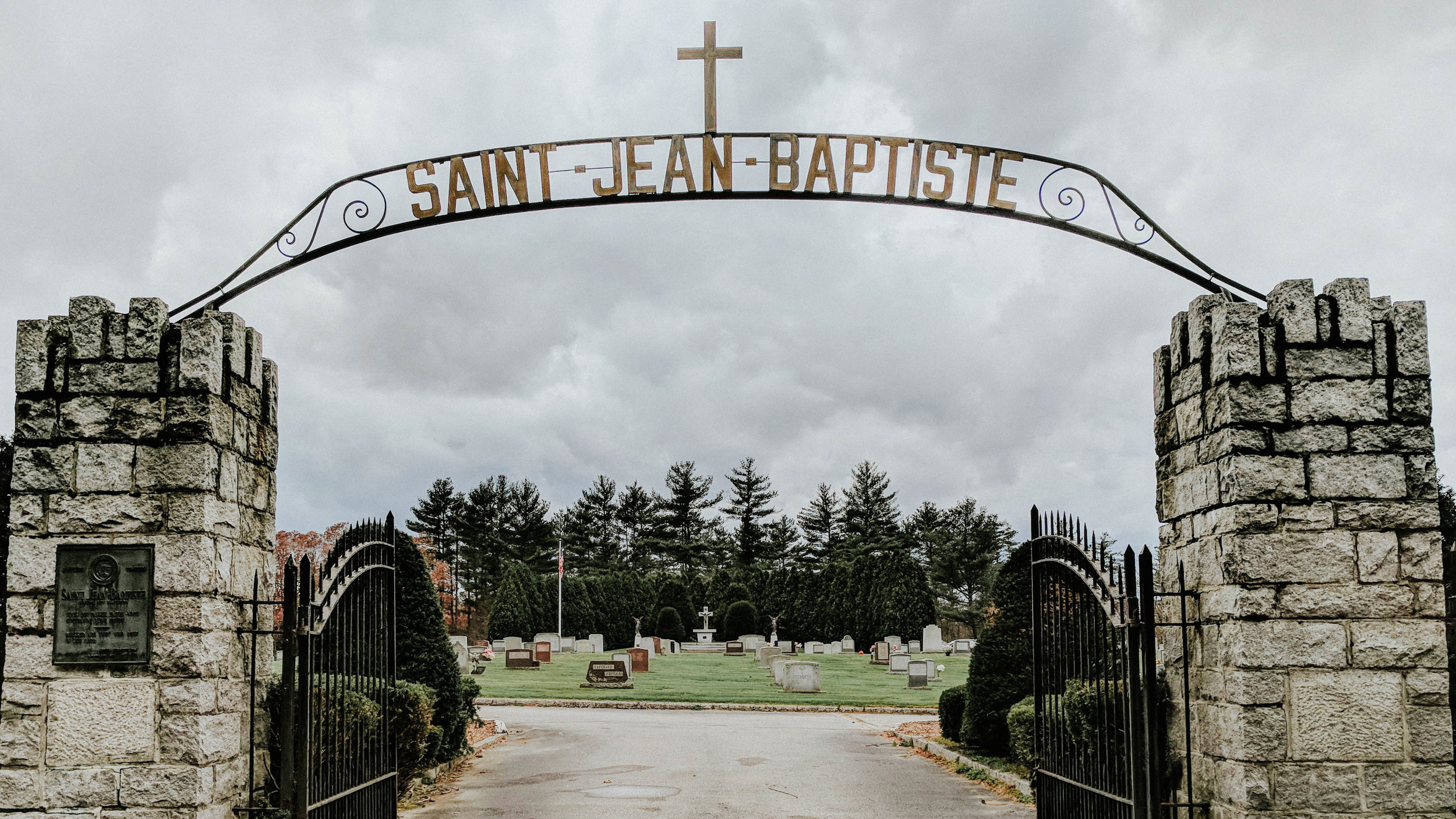 The remains found inside the first barrel were interred at Sain Jean Baptiste cemetery in Allenstown.