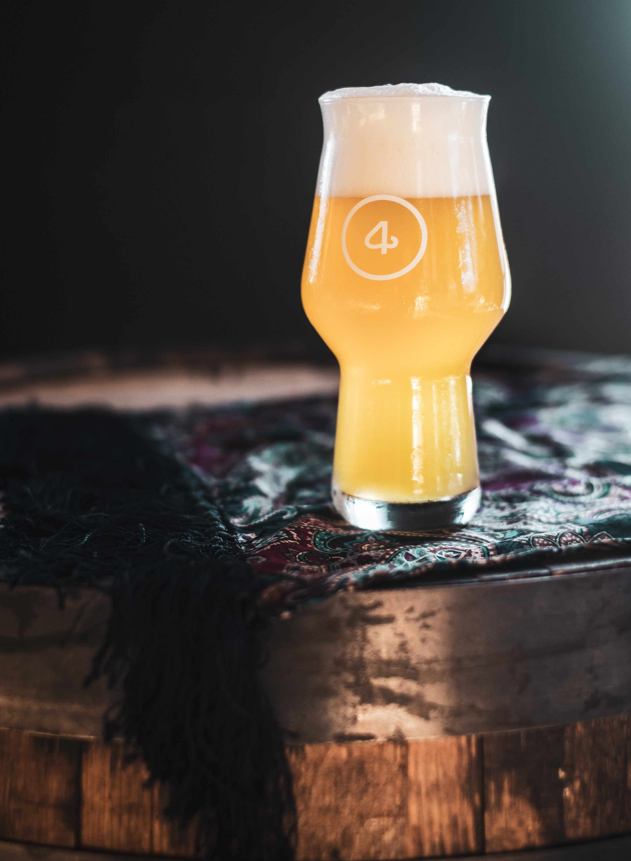Our spelt IPA, The Heirloom, brewed in collaboration with  D  enver Milk Marke  t ;  photo by Stacey McMahan.
