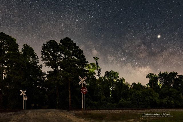 Crossing - I headed out Wednesday night to join The Great Milky Way Chase but quickly found a light had been put up in the spot I wanted to shoot. I moved to another spot not far away watched the lightning bugs zip through the trees as I got some images.⠀ -⁣⠀⠀⠀⠀ -⁣⠀⠀⠀⠀ -⁣⠀⠀⠀⠀ 📷 Nikon D750 | 14mm | ƒ/2.8 | 20s | ISO 800 ⠀⠀⁣⠀⠀⠀⠀ -⠀⠀⁣⠀⠀⠀⠀ -⠀⠀⁣⠀⠀⠀⠀ -⠀⠀⁣⠀⠀⠀⠀ Full size images available for purchase at www.christophernealphotography.com⠀⠀⁣⠀⠀⠀⠀ -⠀⠀⁣⠀⠀⠀⠀ -⠀⠀⁣⠀⠀⠀⠀ -⠀⠀⁣⠀⠀⠀⠀ #thegreatmilkywaychase #milkyway #astrophotography #stars #milkywaychasers #southcarolina #natgeospace #sigma #scphotographer #nikon #night #nightimages #nikonartists #YourShotPhotographer #NikonD750 #NikonUSA #discover_carolinas #photopills #nightscaper #longexposure #longexpohunter #milkywaygalaxy #newmilkyway #lonelyplanet #astrophotographer #nightskyphotography⠀