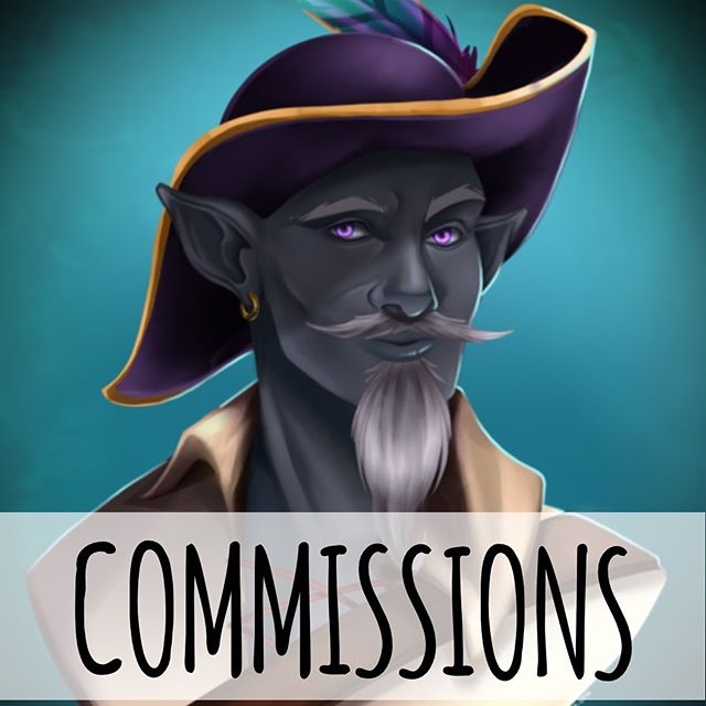 Hey everyone! Just finished my last batch of commissions and am ready for more! 10 slots are available for the next few weeks. So come grab one! . . . #commission #commissions #conceptart #characterart #characterbust #characterdesign #charactersheet #forhire #artistlife #artistsoninstagram #artistforhire #dnd5e #dungeonsanddragons #dungeonsanddragonsart #dndcharacter #illustrator #characterartist #digitalart #digitaldrawing