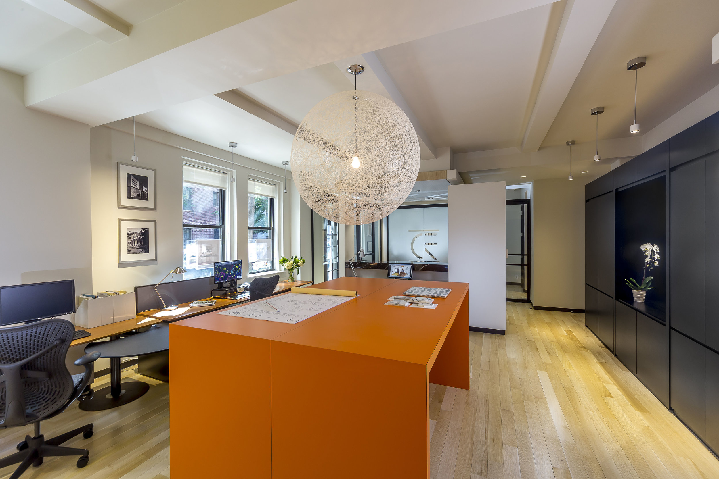 Location:  Upper West Side, Manhattan  Type:  Office  Sq/Ft:  1,800   Details:  Level 5 Finish White Wall, Beam Moulding