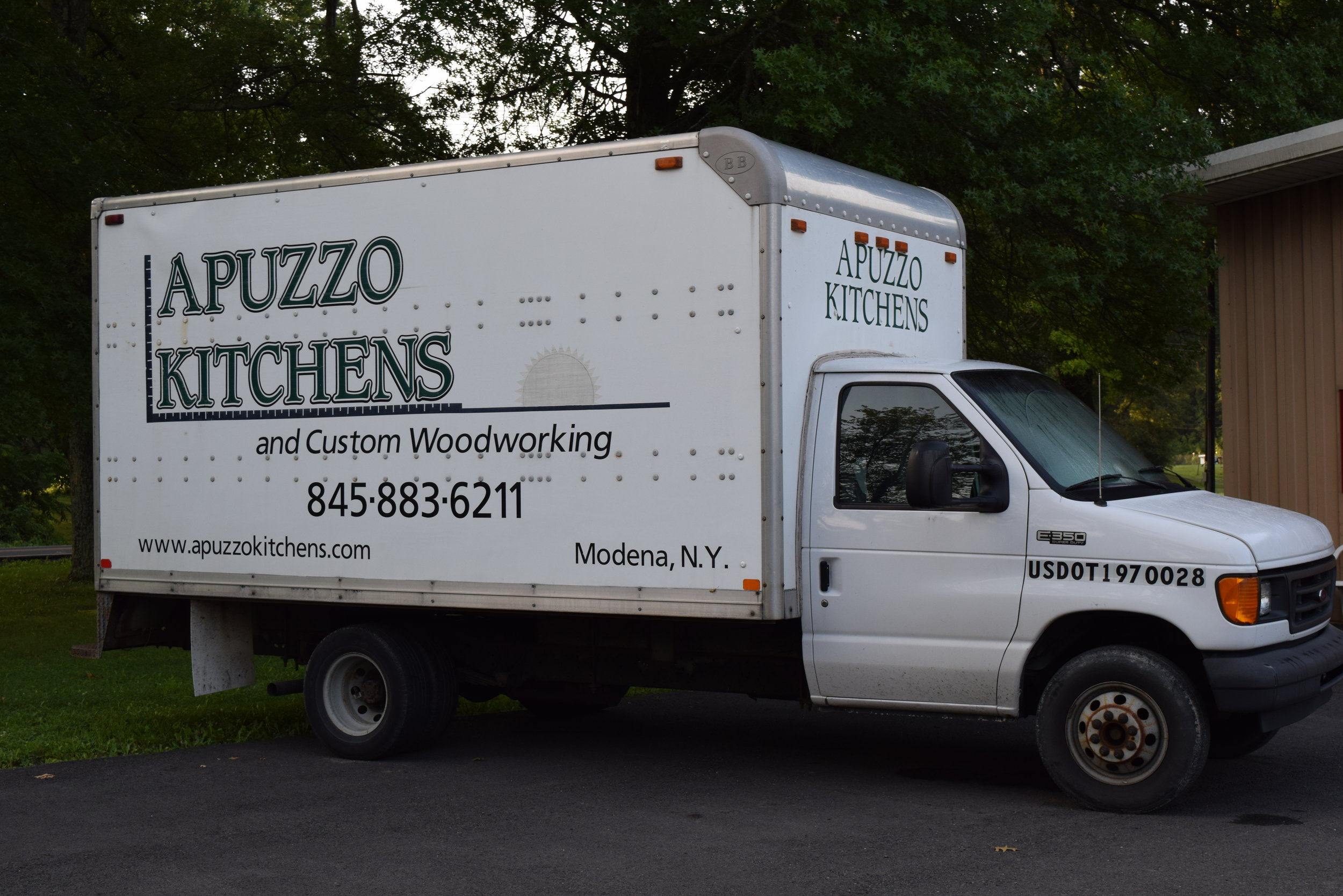 Keep your eyes open for our truck on the roads, we're always out delivering & installing kitchens in the area!
