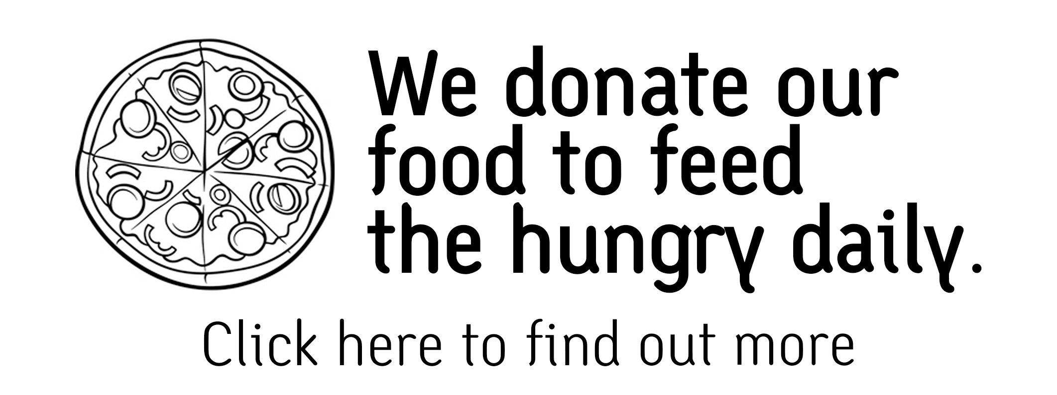 Leftover food charity donations