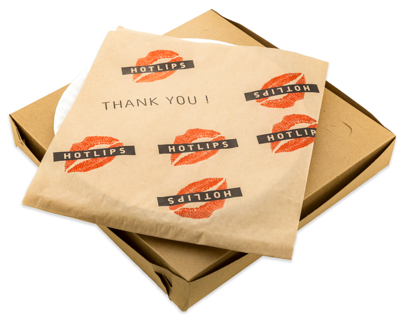 HOTLIPS Pizza - Sustainable Slice Packaging
