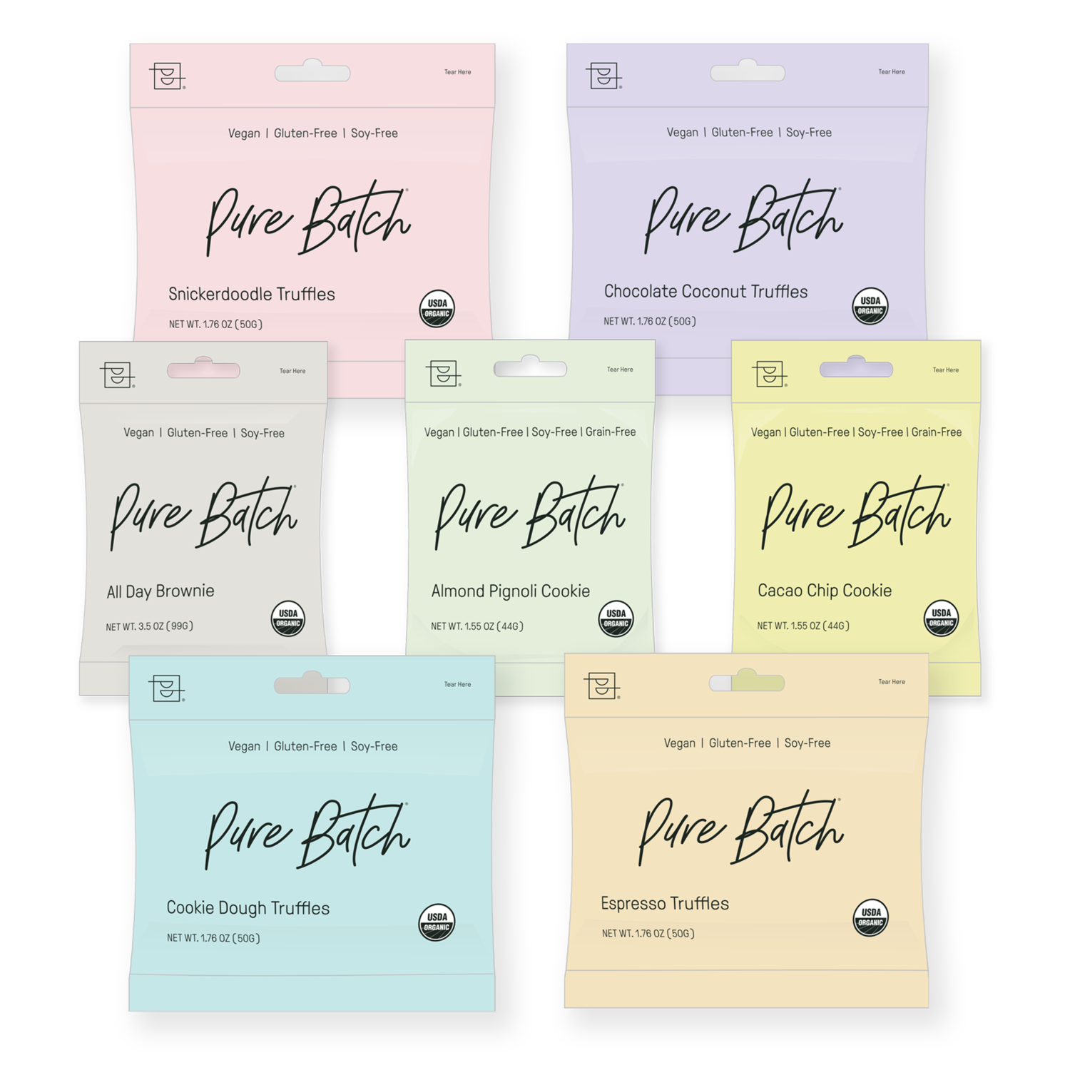 Pure Batch Packaging