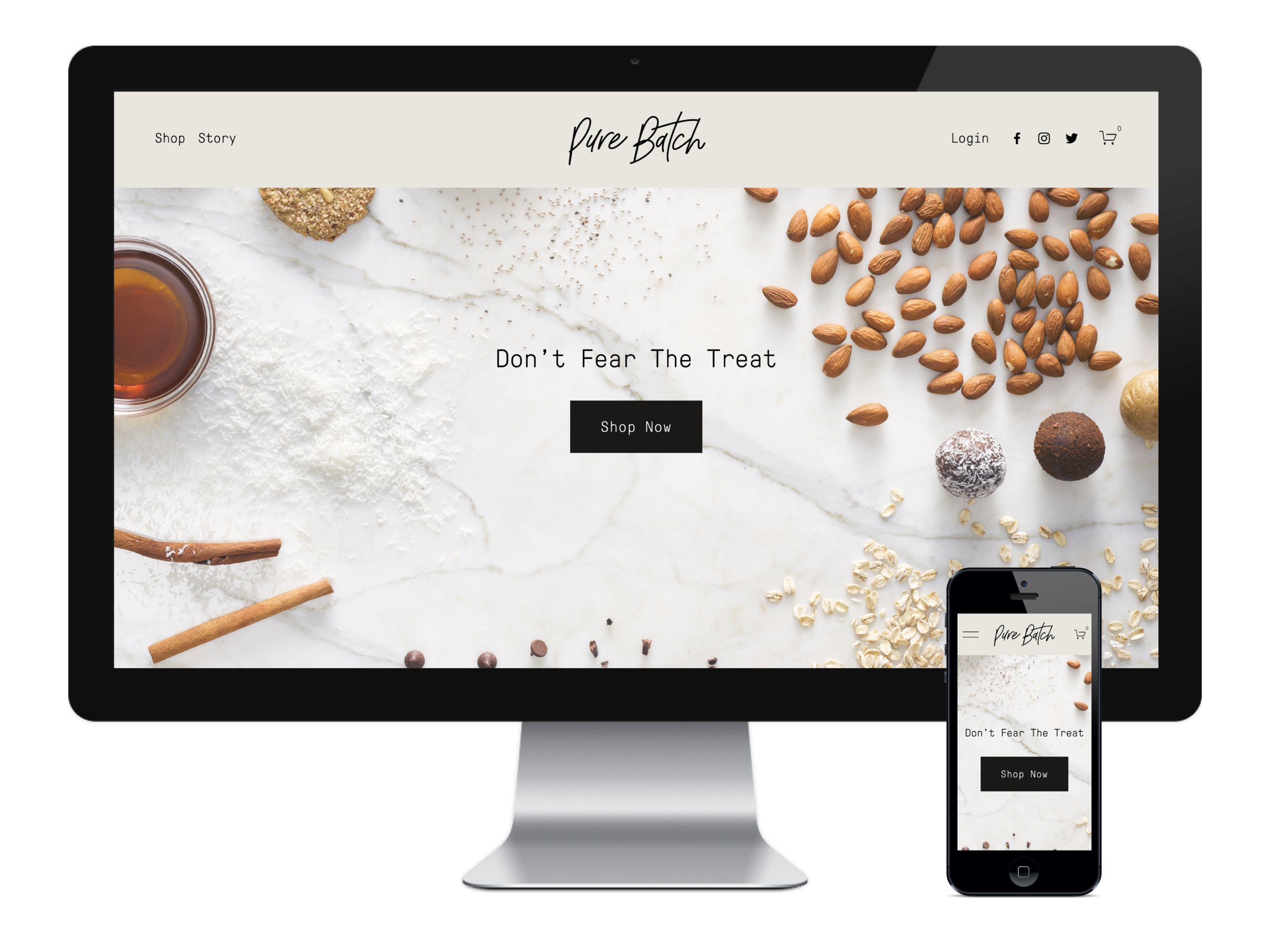Pure Batch Website