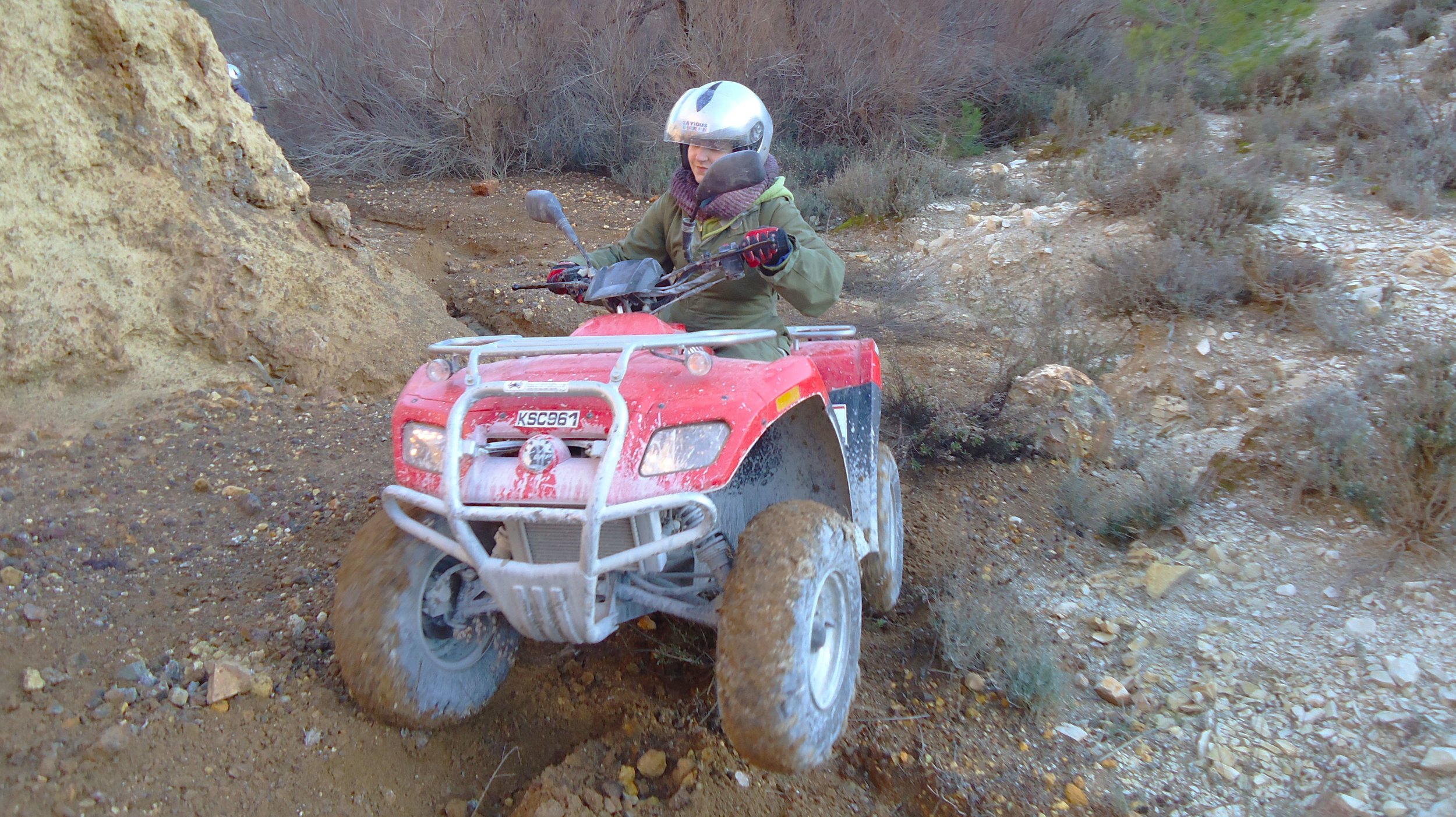 €60  • Off road ATV tour 50 min /  single person
