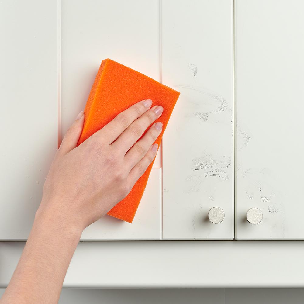 Brillo® Estracell® Big Job Sponge cleaning cabinet
