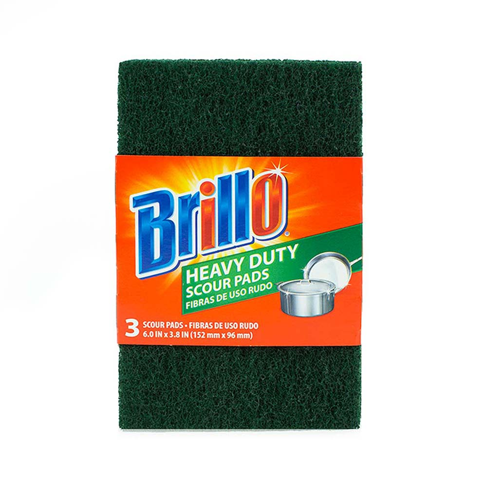 Brillo® Heavy Duty Scour Pads - Easily Clean the Toughest Surfaces