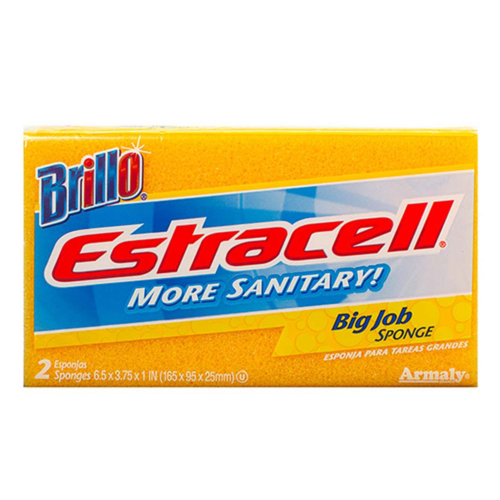 Brillo® Estracell® Big Job Sponge