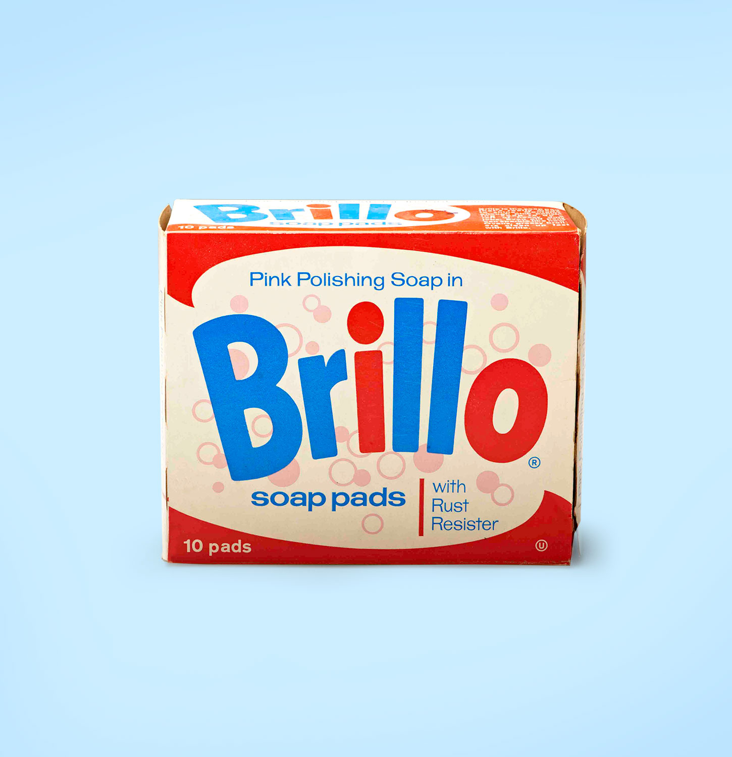 Old brillo soap pad package