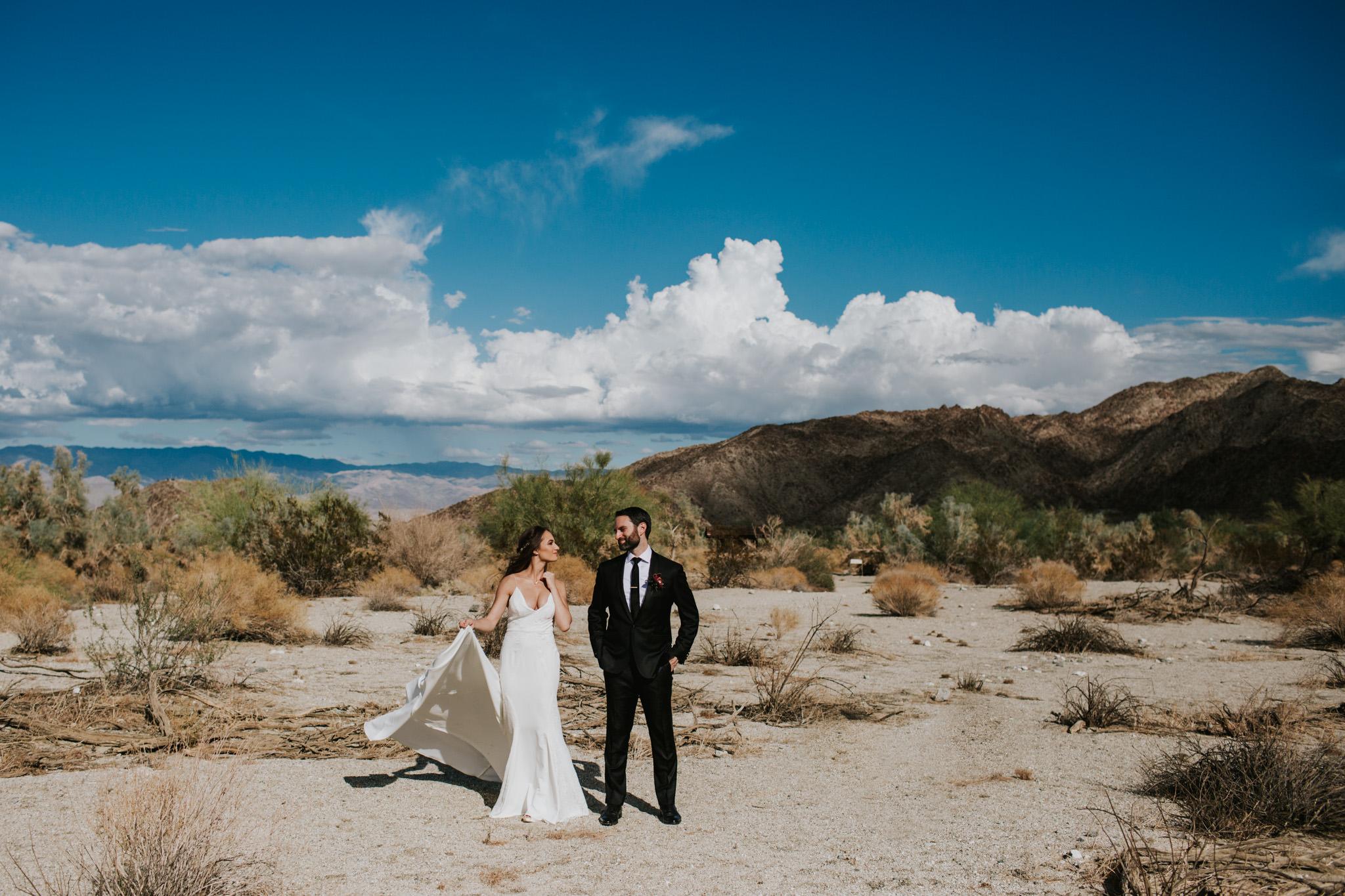 Wedding at The Living Desert in Palm Desert, California