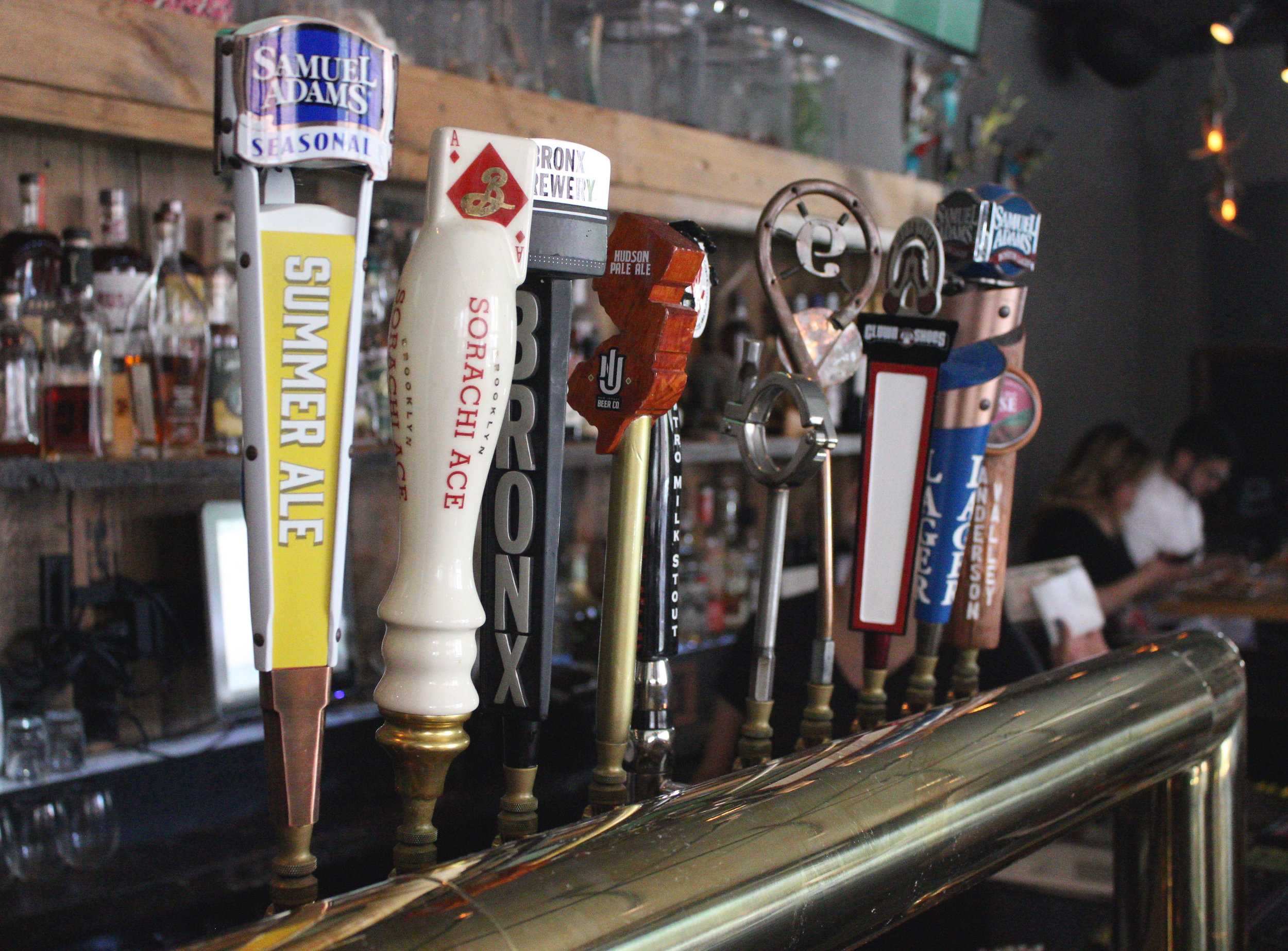 More Beer Please - The Cow has an expertly curated selection of rotational craft beers on tap!