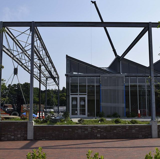 Worcester Blackstone Visitor Center almost complete!