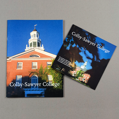 Admissions Viewbook and Search Piece