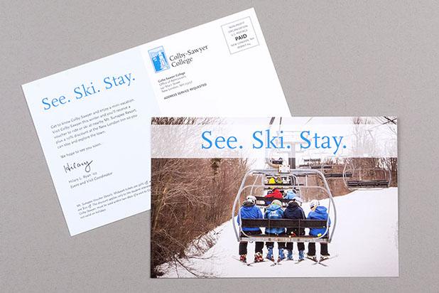 Admissions Postcards