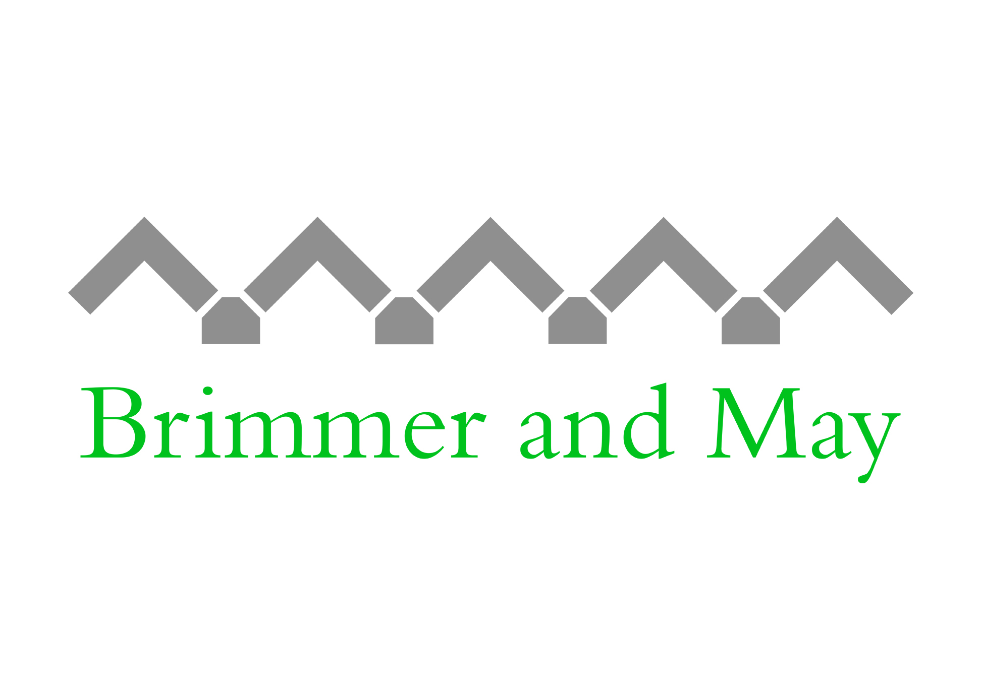 New visual brand for Brimmer and May School in Chestnut Hill, Massachusetts. This logo uses a salient architectural element from the Chase Building on the Brimmer and May campus.