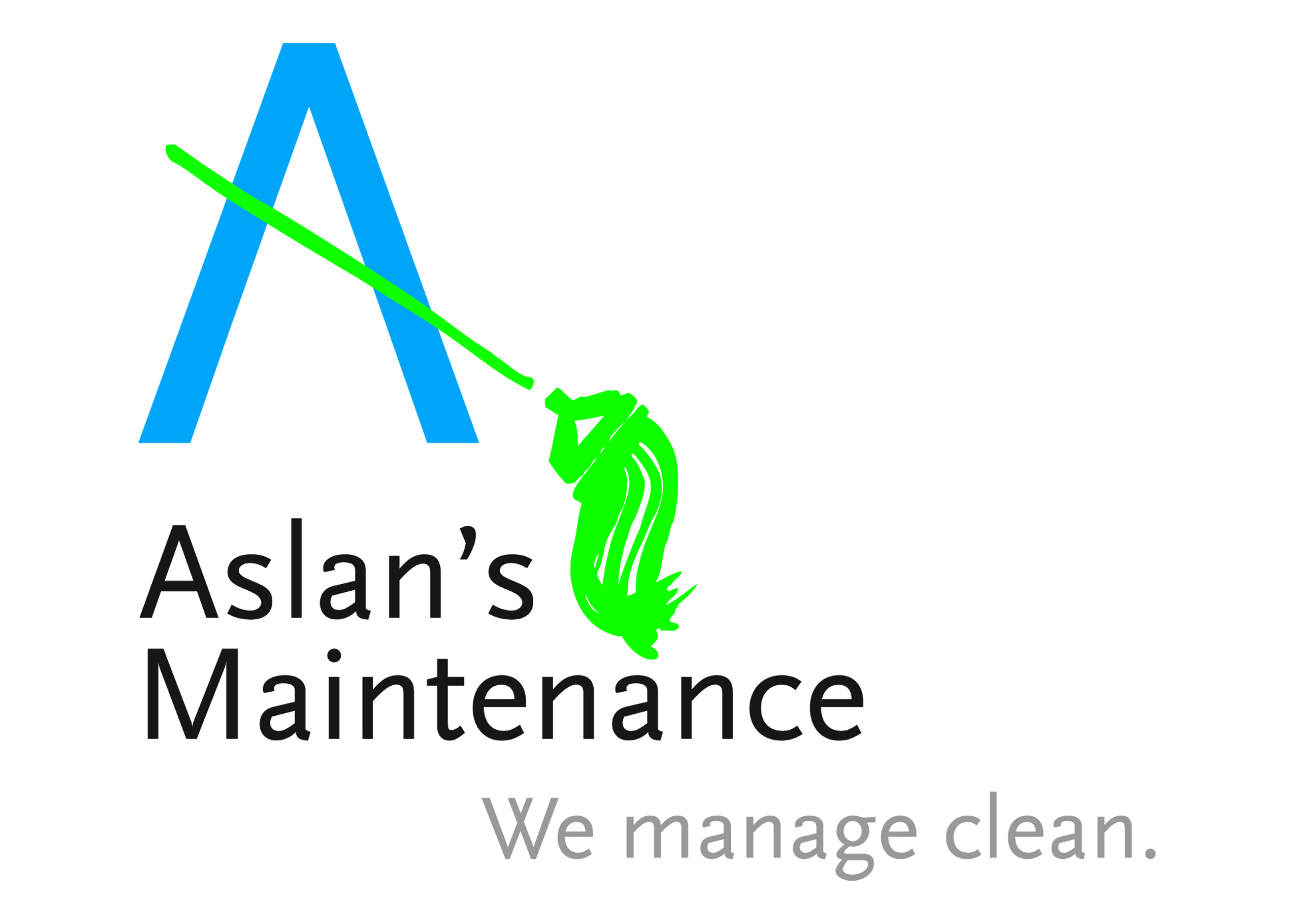 Identity and tagline for a commercial cleaning company in Lebanon, New Hampshire.