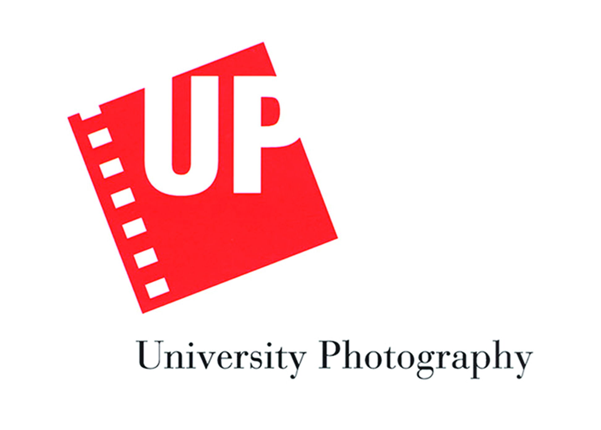 "This logo was created for Cornell University's in-house photography department. It was originally conceived to support a direct mail campaign that we helped to develop that would play on the word ""up"": ""Nowhere to go but UP! For digital photography. For slide processing. For when the Dalai Lama's in town."" ""What's UP? The only full-service photography studio in the area."" ""Heads UP! Outstanding studio portrait photography."""