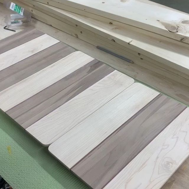 Some danish oil and low profile clips and you've got some fancy clipboards.  #woodshop #woodworker #danishoilfinish #watco #teacherclipboard #clipboards #woodworking #hardwoods #maker #diy #diycrafts #diyhomedecor
