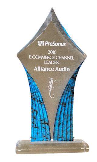 2016 PreSonus E-Commerce Channel Leader
