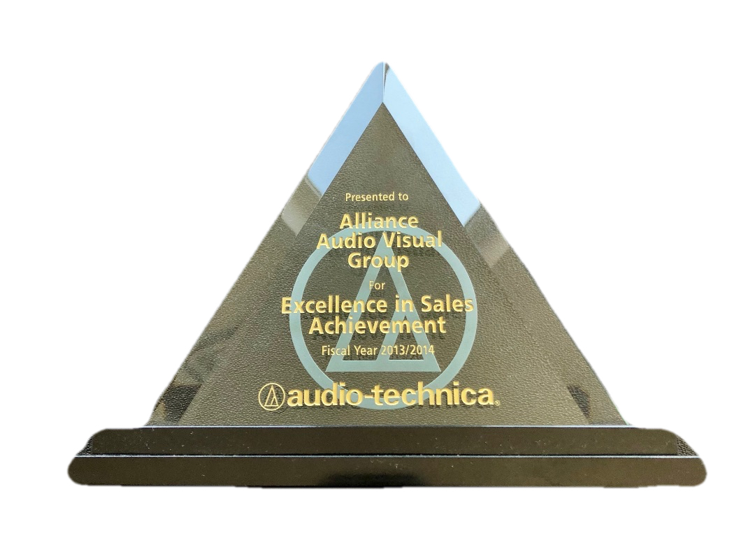 AAVG Excellence in Sales 2013/2014