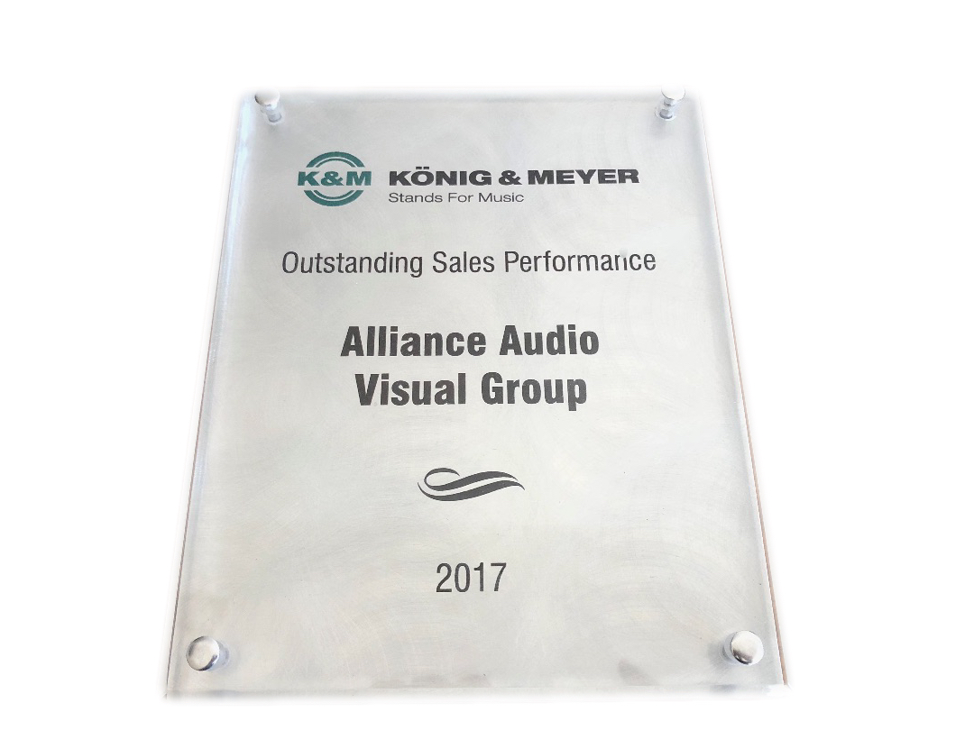 K & M Outstanding Sales Performance 2017