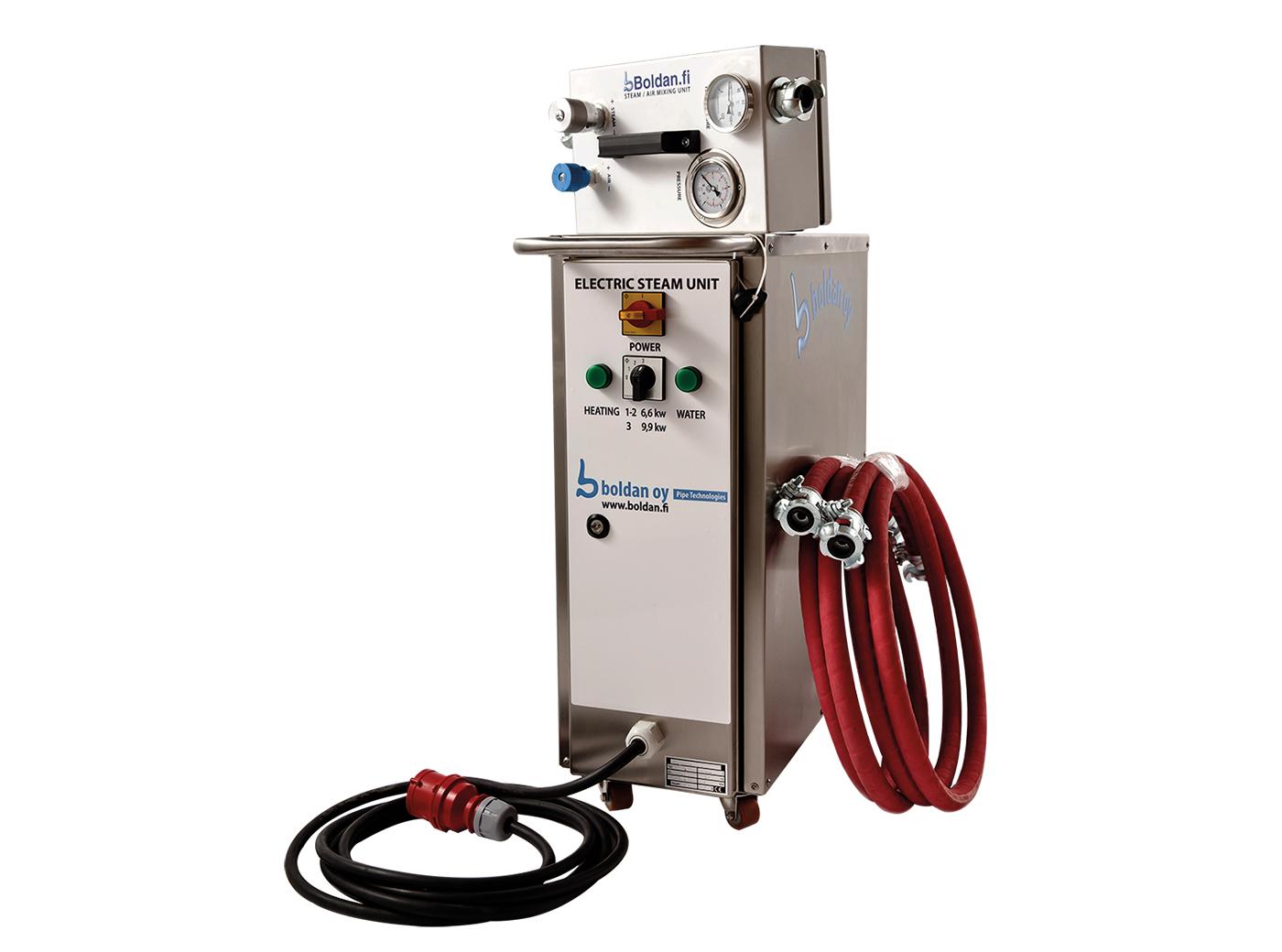 Steamherding enheter