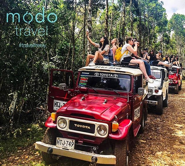 Take the road less travelled 🤙🏻 #modoRoss #modoColombia #theTrek2019 #travelfreely
