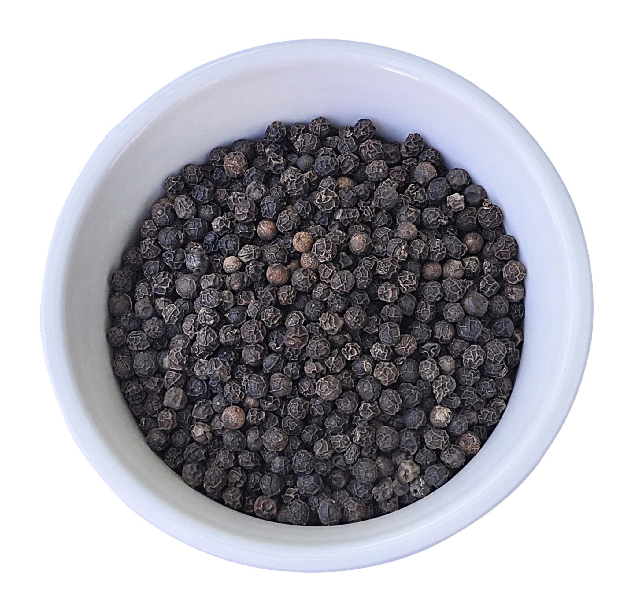 Black Pepper - Black Pepper is widely used today as a seasoning agent in food. Black Pepper is native to tropical countries such as India, Vietnam, Brazil, Indonesia and parts of China. It is one of the world's most traded spices.Black pepper can be traced to ancient times, with references to the spice in Greek and Roman literature. By 40 AD, the Romans had a thriving trade in Pepper. At one point, Pepper was so highly valued that it was used as a form of currency along the trading routes. The famous medieval French phrase