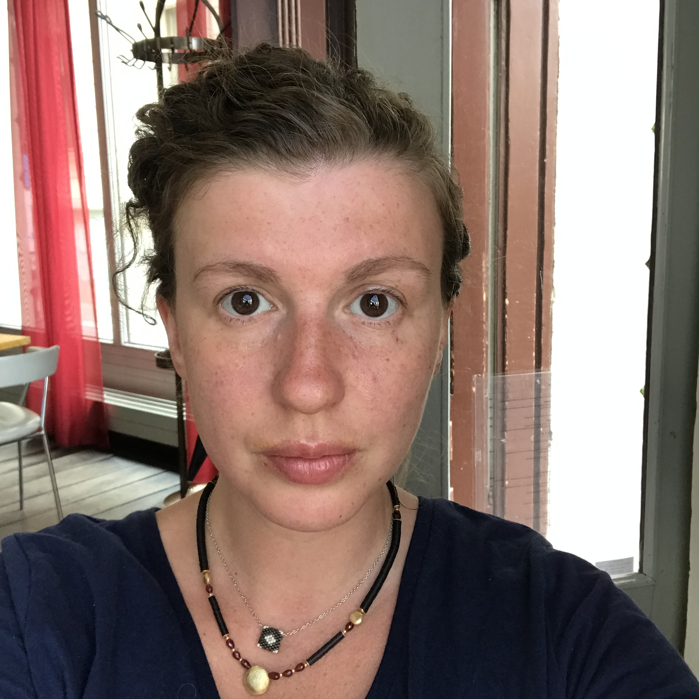 Luba Kaper - Hi! My name is Luba. I'm super excited to start this program. I hope it will help me to start a new life. My 10 year old son loves coding, so i hope we can lern new things together with him!:)
