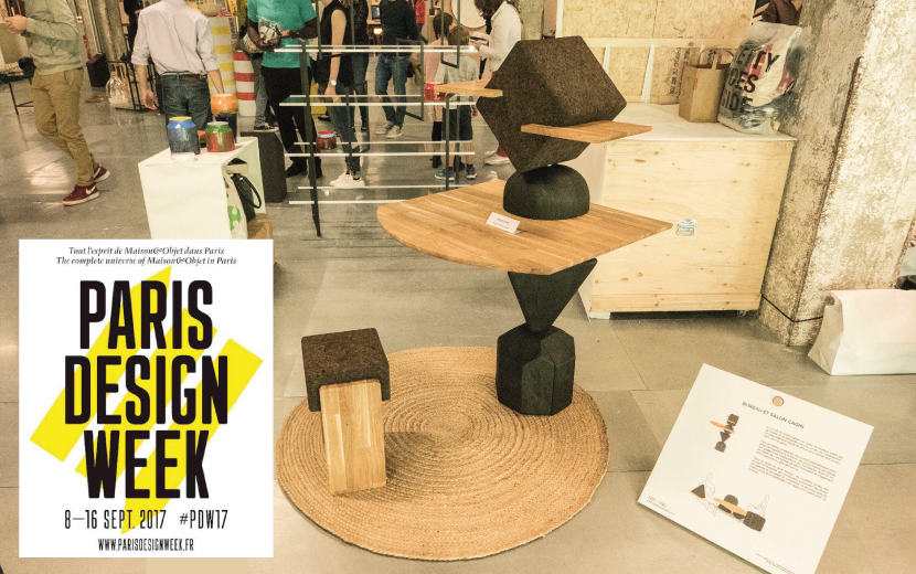 Cairn lors de la Paris Design Week 2017
