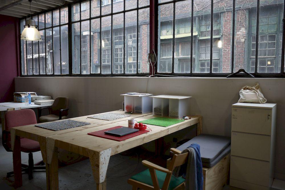 Les bureaux Re-Store © Woma