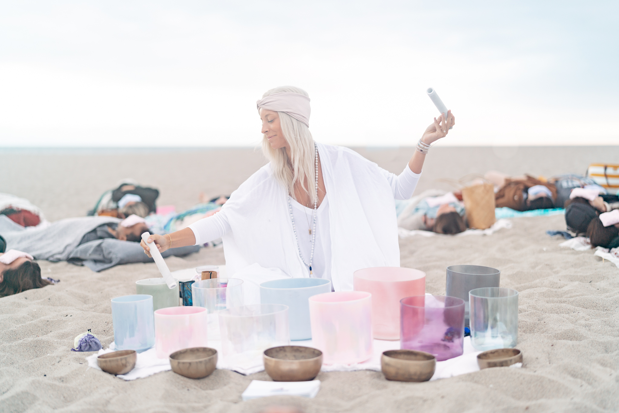 Beach Sound Bath - The Copper Vessel