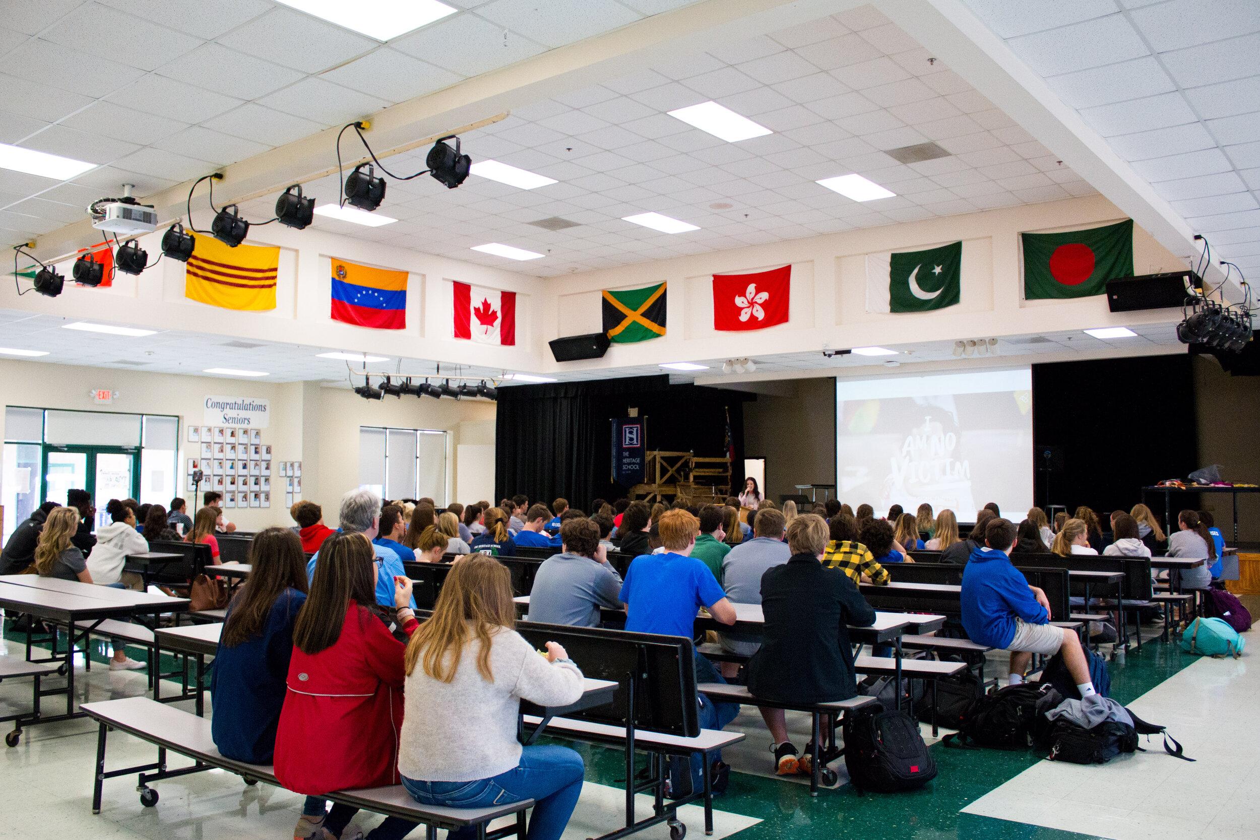 2019 - SPEAKING AT HERITAGE SCHOOL
