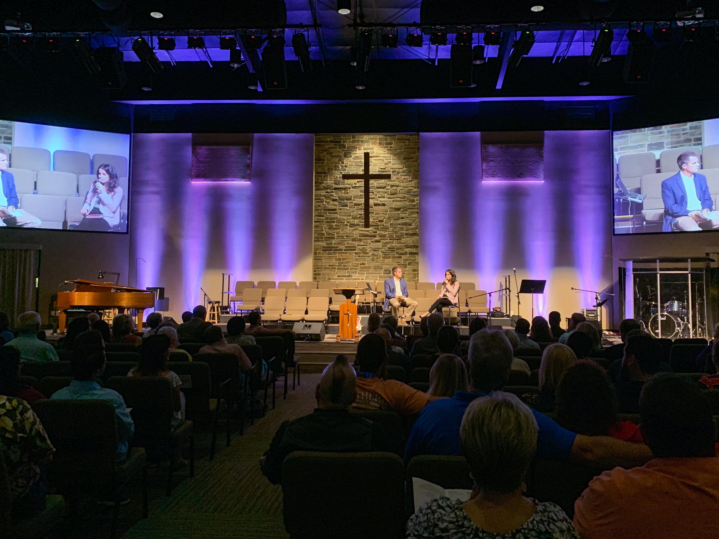 2019 - SPEAKING AT SOUTHWEST CHRISTIAN CHURCH