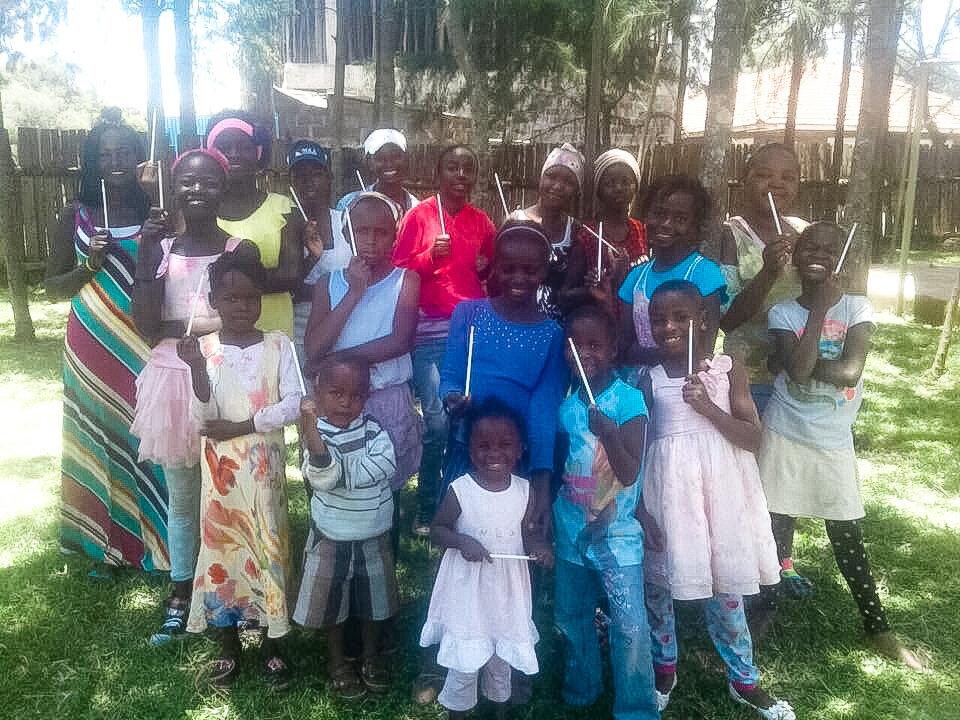 NOV 2018 - LAUNCHED CHILD SPONSORSHIP PROGRAM FOR RESCUED CHILDREN IN KENYA