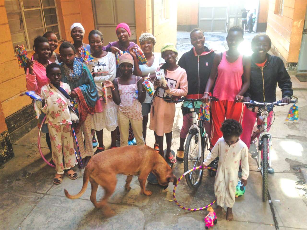 CHRISTMAS 2018 - AFTER OPENING THEIR GIFTS & EATING A CHRISTMAS MEAL - SPONSORED BY OUR GENEROUS DONORS