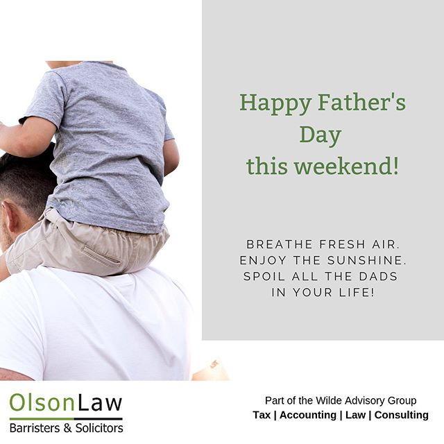 To all the dads, papas, pops, тато, and gidos out there: Happy Father's Day! 🌾☕️⛳️ . #olsonlawveg #vegreville #yeg #alberta #fathersday