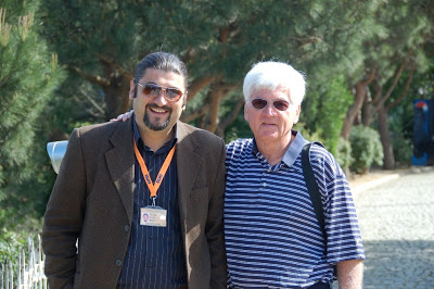 Shot of Jim with native-born tour guide, Murat.