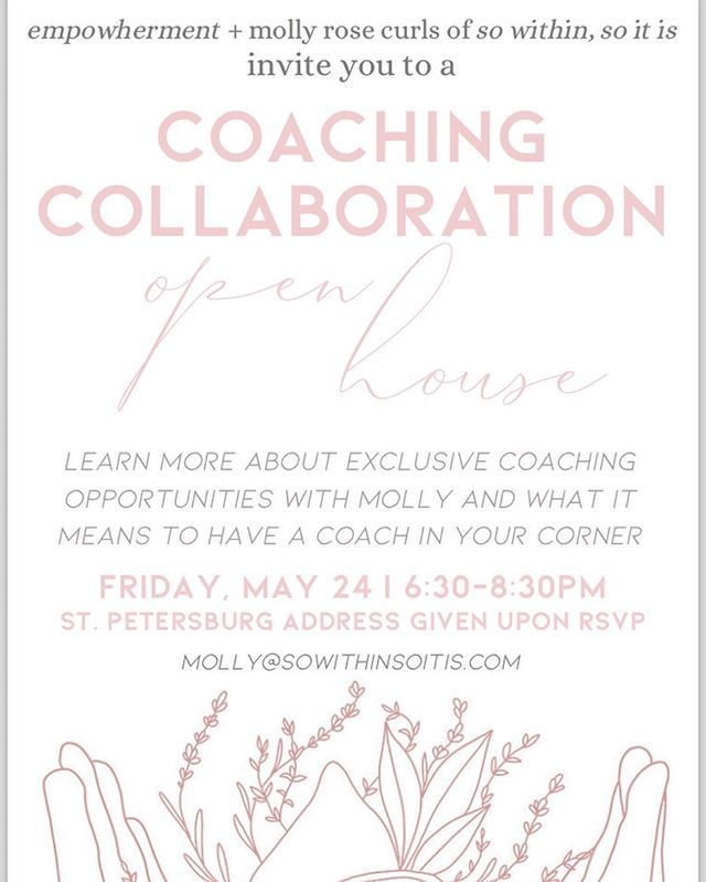 I'm so excited for the open house collaboration @sowithinsoitis is hosting for @_empowherment this Friday! Comment if you'll be joining us 💕✨
