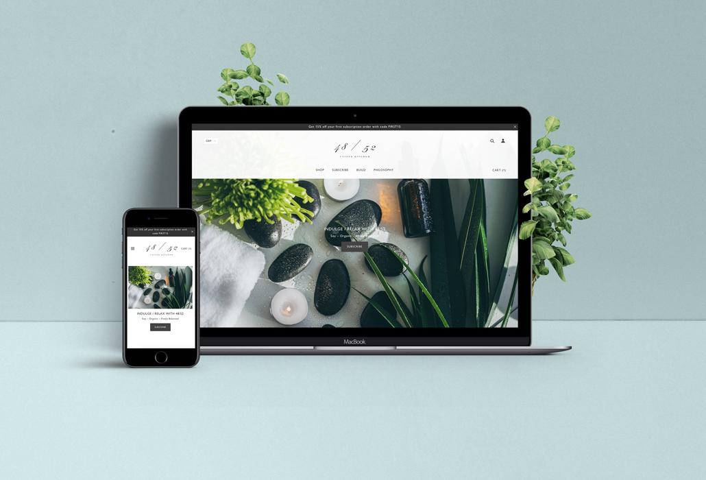 4852 Shopify luxury candles | Zay Creative