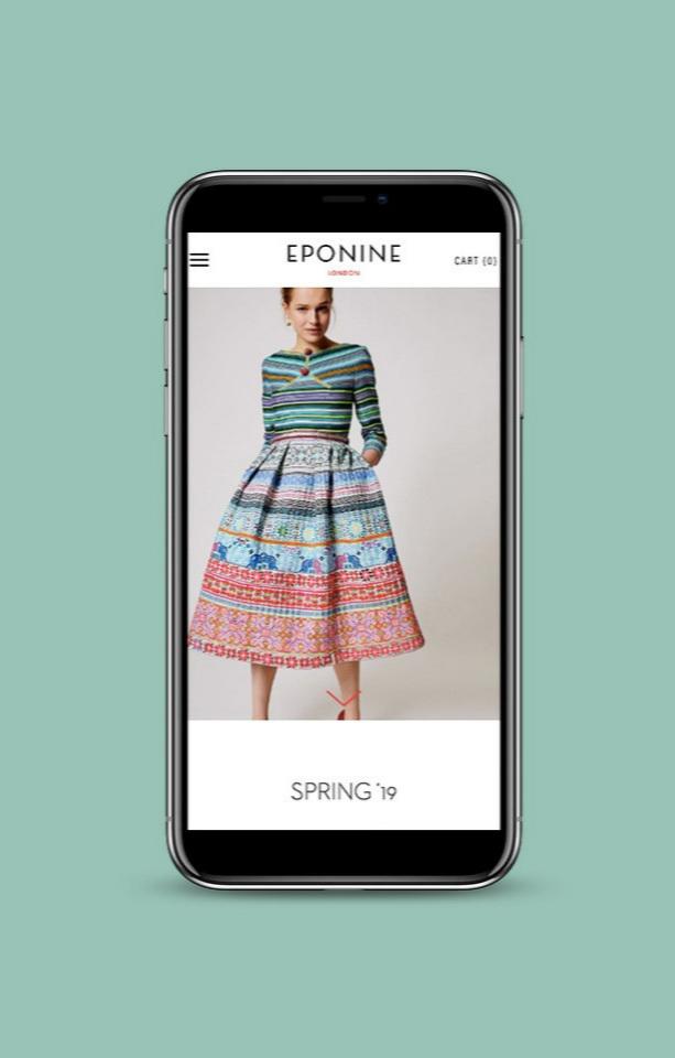 Shopify+ fashion +brand +website +design+ Zay+ Creative