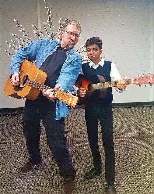 Matt Besey with Student.jpg
