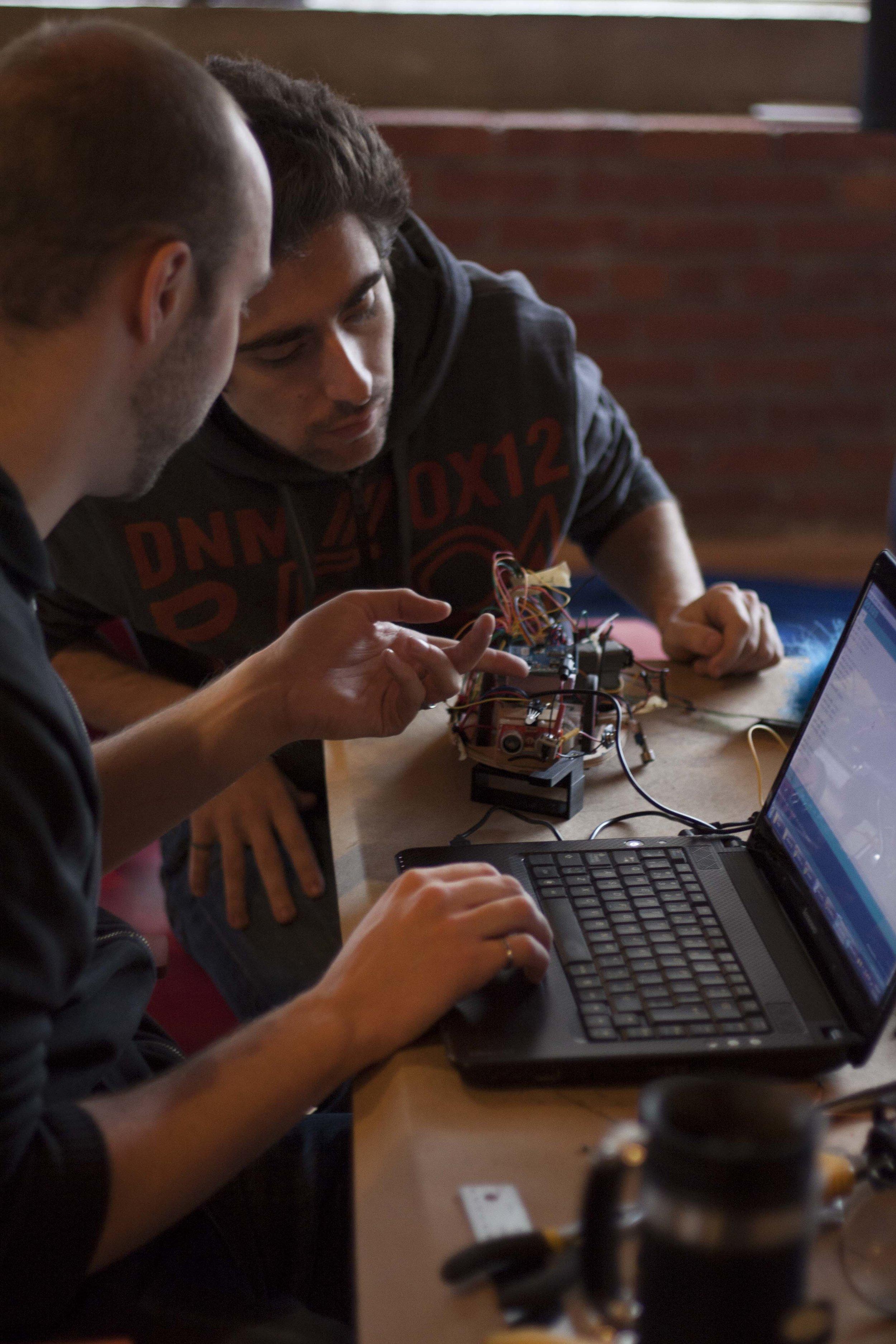 Emocat, Get Your Bot On! 2012  Robotics Hackathon Tech Prize winner