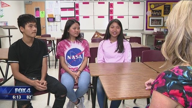 Chin students in Lewisville, Texas are interviewed on KDFW Fox 4 News. Avant Assessment was proud to support this community by building an Avant WorldSpeak test that enabled the students to earn high school credit for demonstrating their language proficiency skills.