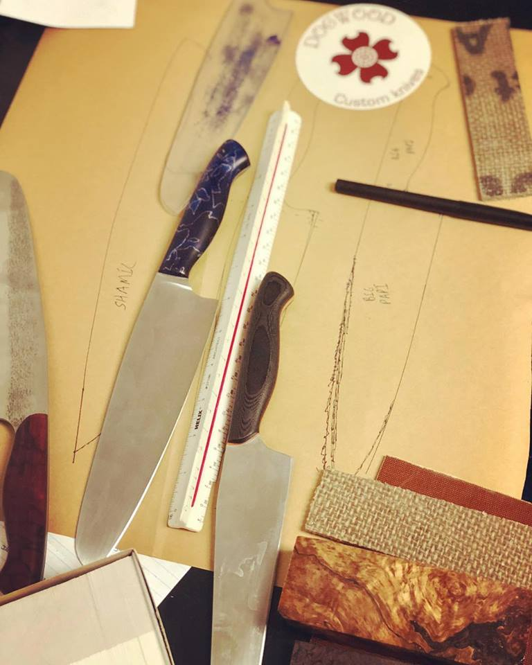 "8"" Chef's Knives"
