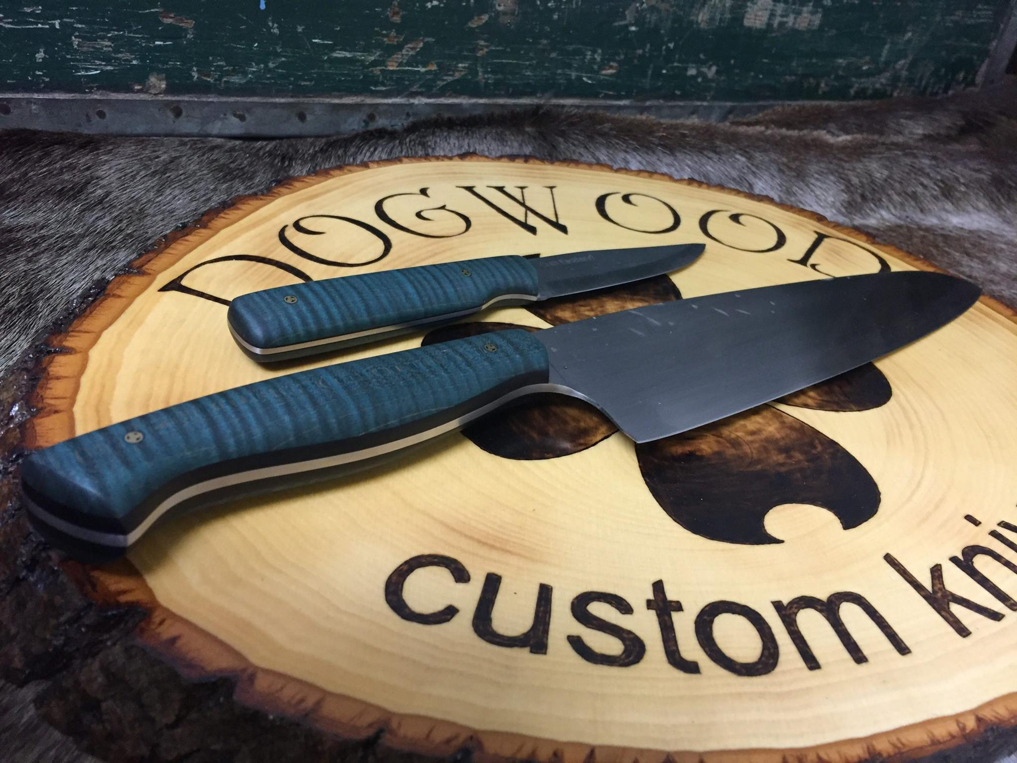"""8"""" Chef's Knife and Parring Knife"""