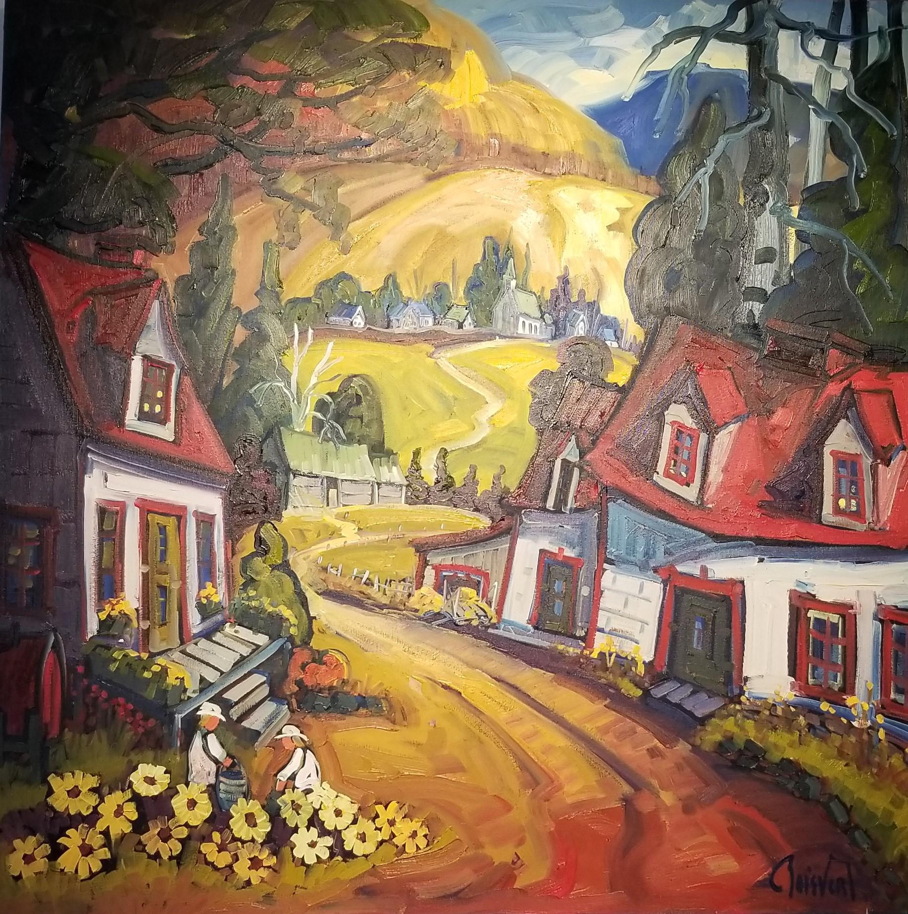 Normand Boisvert-La culture des fleurs à la ferme