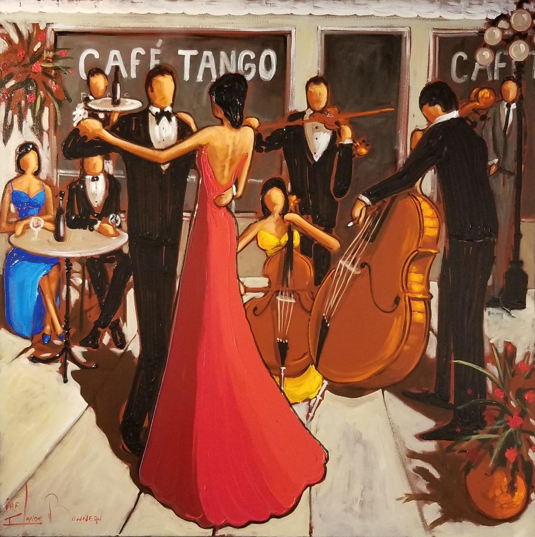 Claude Bonneau-Café Tango